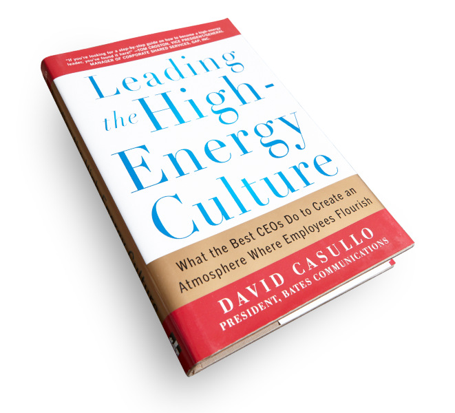 David Casullo - Leading the High Energy Culture