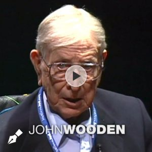 The Difference Between Winning and Succeeding by John Wooden